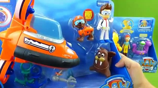 Paw Patrol Bath Time Toys Captain Turbot Diving Bell Zuma and Ryder Submarine Bath Adventure Water Toy