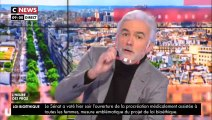 """""""Welcome zis mornigue"""" : Pascal Praud se moque de l'accent anglais d'Emmanuel Macron dans """"L'heure des pros"""""""
