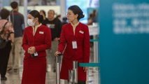 Cathay Pacific shifts policy allowing staff to wear masks as deadly Wuhan coronavirus spreads