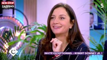 Marion Cotillard : Robert Downey Jr fait son éloge dans C à Vous (Vidéo)