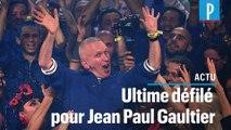 Le dernier défilé haute couture de Jean Paul Gaultier