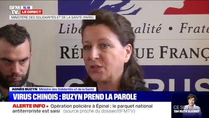 """Agnès Buzyn sur le coronavirus: """"Tous les aéroports internationaux ont des affiches d'information"""""""