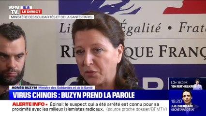 """Coronavirus: Agnès Buzyn explique qu'en cas de doute il faut """"appeler le centre 15"""""""