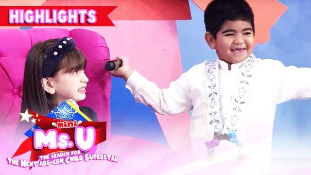 "Yorme dances ""Tala"" | It's Showtime Mini Miss U"