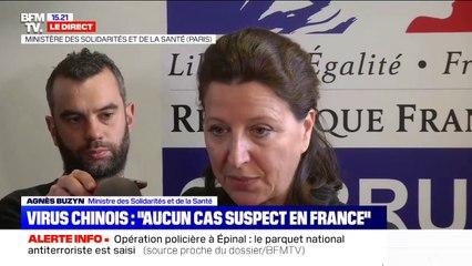 """Coronavirus chinois: """"Aucun cas douteux en France"""" affirme Agnès Buzyn, ministre de la Santé"""