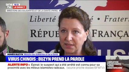 """Agnès Buzyn sur le coronavirus: """"Il y a autour de 600 personnes diagnostiquées avec ce virus"""" en Chine"""