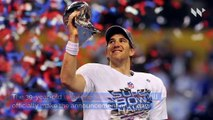 Longtime Giants QB Eli Manning to Retire