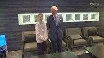 Greta Thunberg Meets Prince Charles at the World Economic Forum in Davos