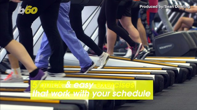 Crunch Time! 5 Quick and Easy Exercises That Will Work with Your Busy Schedule