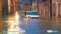 Tempête Gloria : près de 250 personnes évacuées dans l'Aude