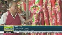 Malasia: fabrican varas gigantes de incienso para el año nuevo lunar