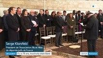 75 ans de la libération d'Auschwitz : Emmanuel Macron rend hommage aux déportés français