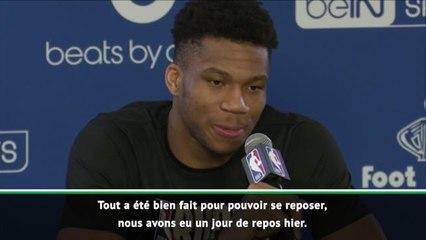 Paris Game - Giannis Antetokounmpo : ''La dernière fois que j'étais venu à Paris, personne ne me connaissait''
