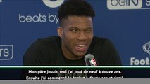 Paris Game - Giannis Antetokounmpo : ''J'espère rencontrer Neymar et Mbappé''