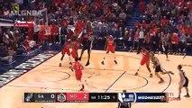 Basketball   nba saison régulière : Le point des matchs Pélican vs Spurs et Heat vs Wizards