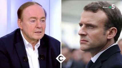 Macron face aux contestations - C à Vous - 23/01/2020