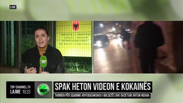 SPAK heton videon e kokainës/ Thirren për sqarime kryebashkiaku i Bulqizës dhe gazetari Artan Hoxha