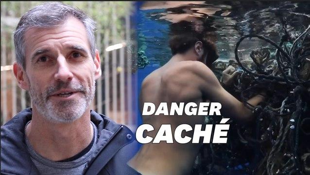 """Il a nagé 500 kilomètres dans le """"continent de plastique"""" et fait une découverte inquiétante"""