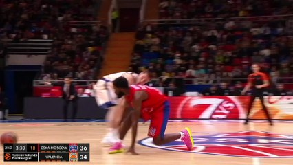 EuroLeague 2019-20 Highlights Regular Season Round 21 video: CSKA 81-70 Valencia