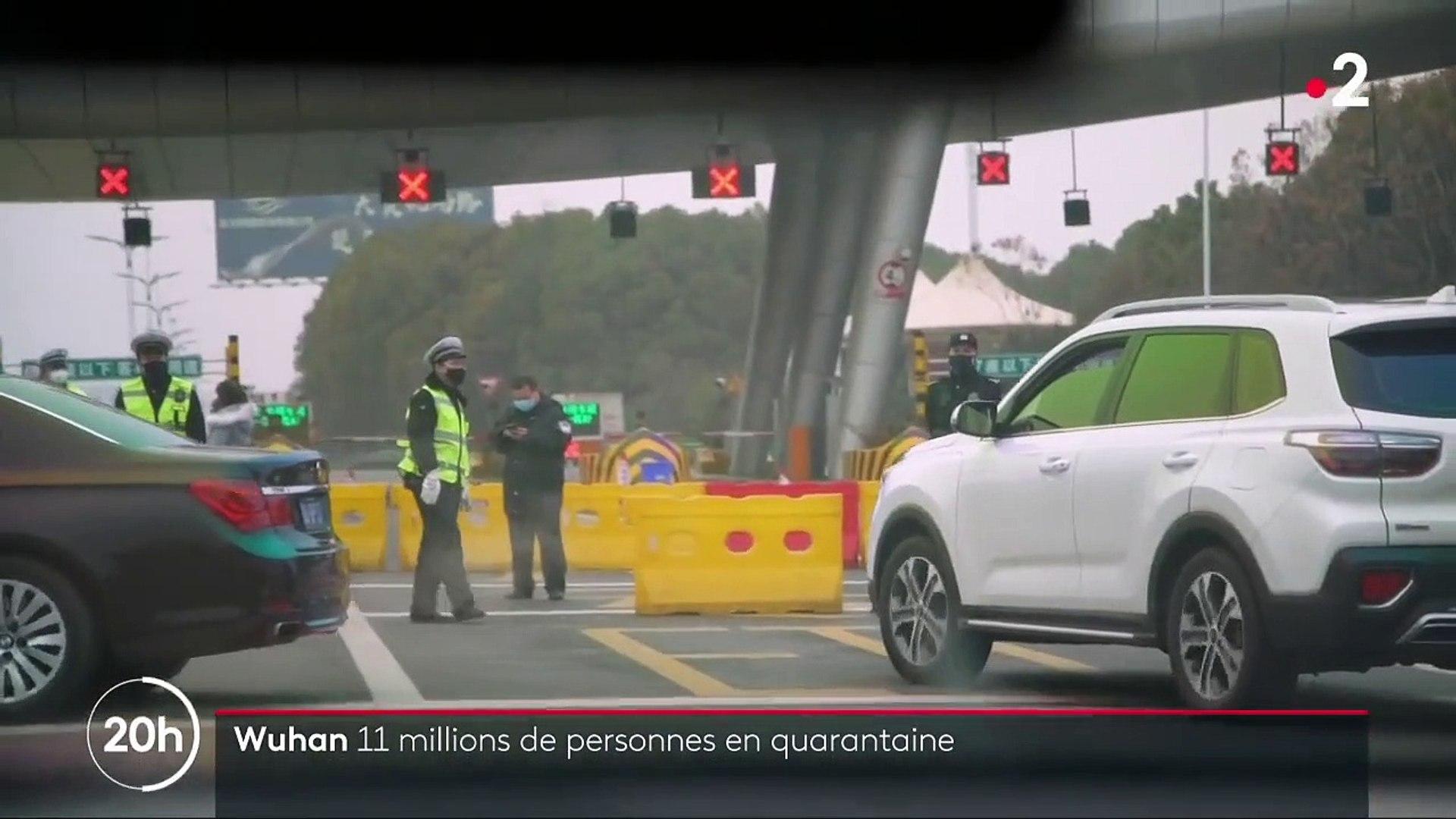 Virus de Wuhan : 11 millions de personnes en quarantaine