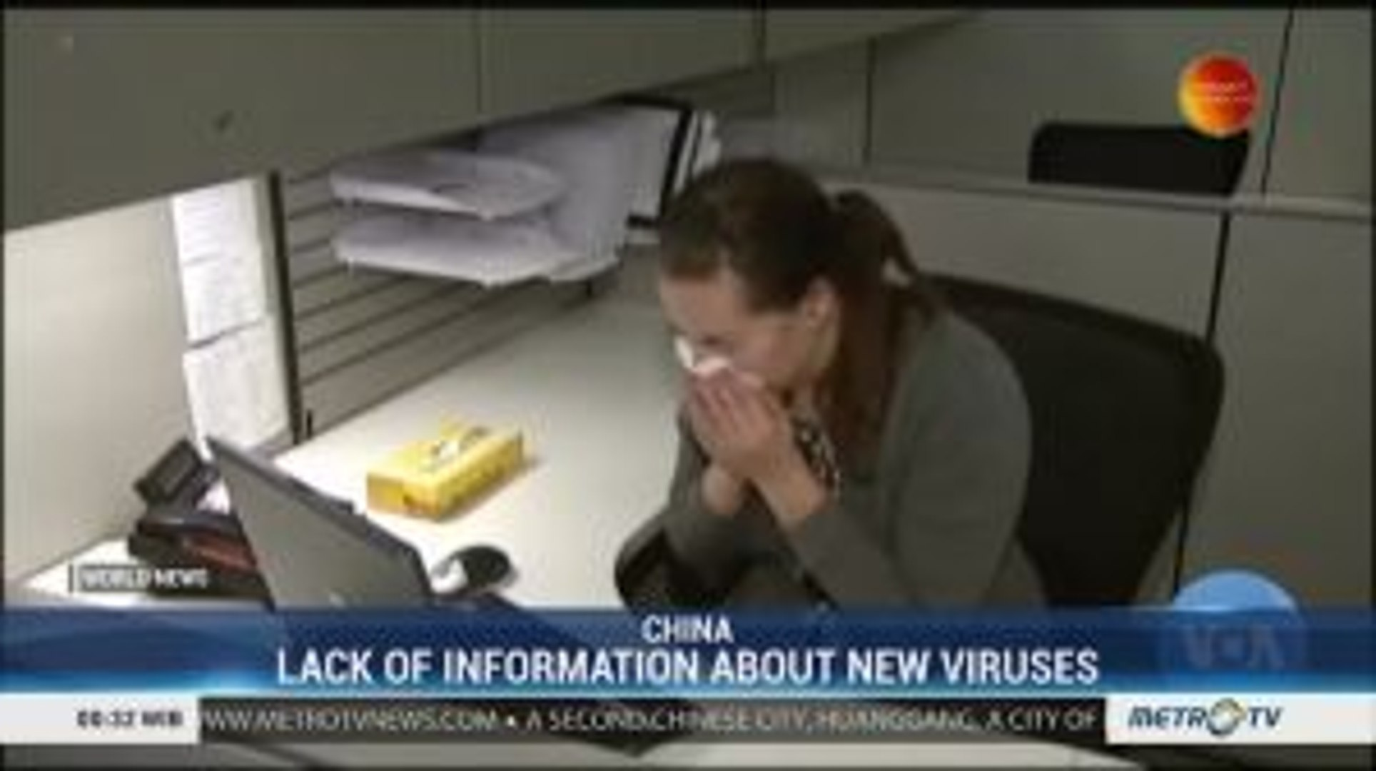 Lack of Information About New Viruses in China