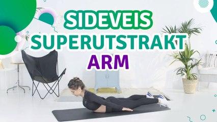 Sideveis superutstrakt arm - Trenings Glede