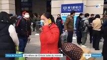 Virus de Wuhan : 20 millions de Chinois coupés du monde