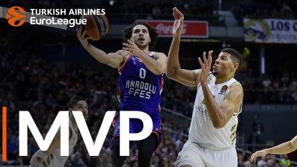 Round 21 MVP: Shane Larkin, Anadolu Efes Istanbul