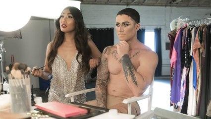 Gia Gunn Gives Kyle Krieger a Drag Makeover