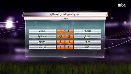 بني ياس يتفوق على النصر بهدف في دوري الخليج العربي الإماراتي