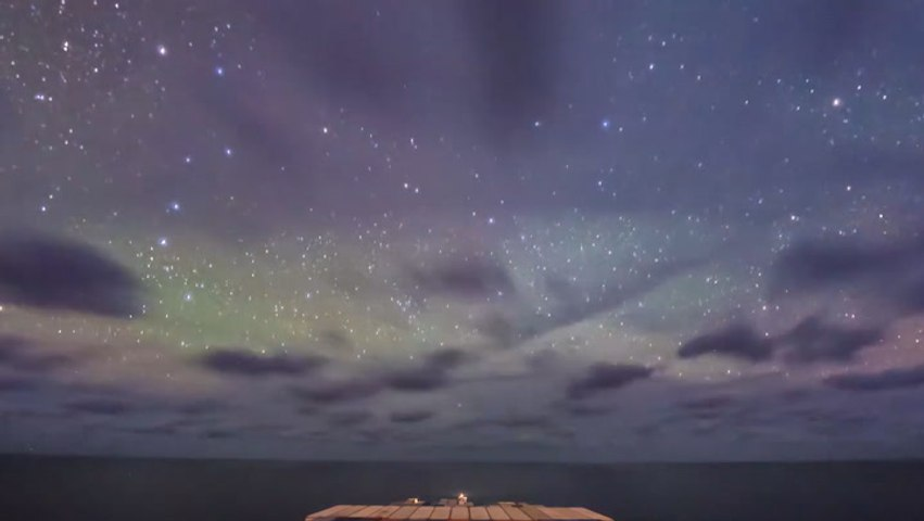 Stunning Timelapse Footage Documents Two Weeks At Sea