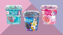 Duncan Hines Is Making Single-Serve Mermaid, Unicorn, and Galaxy Cake Cups