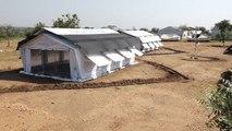 Carpas para climas extremos albergarán escuelas en situaciones emergencia
