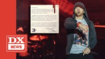 Eminem Pens Open Letter To His 'Victims' Of 'Music To Be Murdered By'