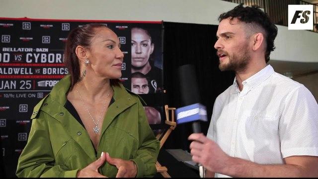 Bellator 238: Cris Cyborg pre-fight interview
