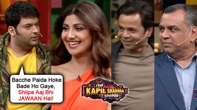 Kapil Sharma FLIRTS With Shilpa Shetty, Makes FUN OF Rajpal Yadav | The Kapil Sharma Show Hungama 2