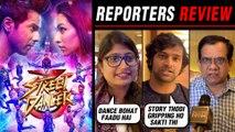 Street Dancer 3D Reporters REVIEW ⭐⭐⭐⭐ | Varun Dhawan, Shraddha Kapoor, Nora Fatehi, Remo D'souza