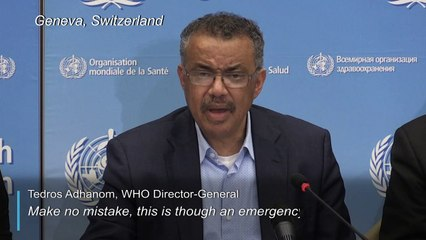 Wuhan virus: WHO says no global emergency