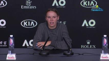 """Open d'Australie 2020 - Caroline Wozniacki says goodbye to tennis : """"This is the best time to stop"""""""