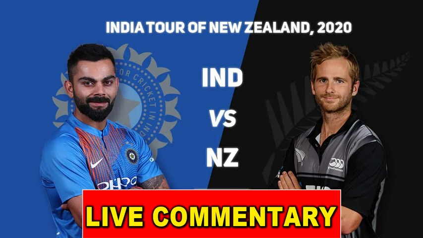 India vs New zealand - Live Commentary