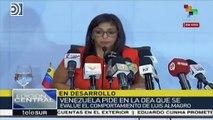 Las barbaridades de Delcy Rodríguez, vicepresidenta de Maduro que se reunió con Ábalos
