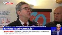 """Réforme des retraites; Jean-Luc Mélenchon estime que """"le gouvernement décide de passer en force"""""""