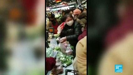 """Coronavirus à Wuhan : """"C'est une ville presque morte. Il y a une pénurie dans les magasins"""""""
