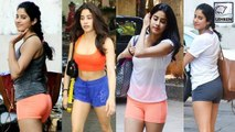 8 Simple Gym Looks Of Janhvi Kapoor To Try Next