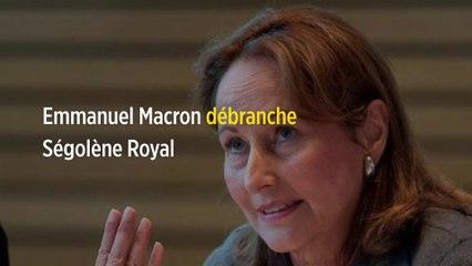 Emmanuel Macron débranche Ségolène Royal