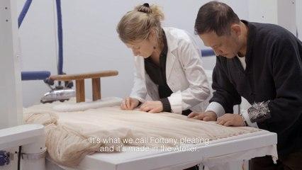 Le savoir-faire de la robe plissée Dior haute couture