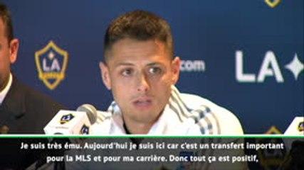 "LA Galaxy - Chicharito: ""C'est gagnant-gagnant"""