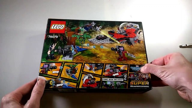 LEGO 76079 Ravager Attack Marvel Universe Guardians of The Galaxy Vol 2 Speed Build