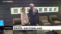 A Davos, rencontre Greta Thunberg - prince Charles
