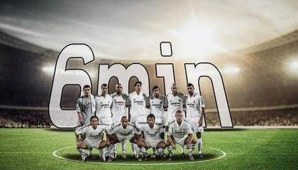 قصّة مباراة الـ6 دقائق التي لعبها ريال مدريد